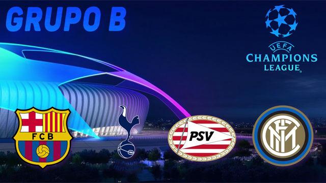 Champions League 2018 - 2019  El grupo del FC Barcelona 5470cdb66b3f1