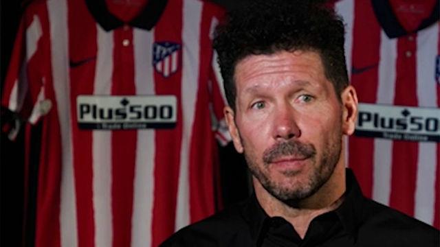 """Simeone: """"La eliminatoria con el Leipzig, al 50 por ciento"""""""