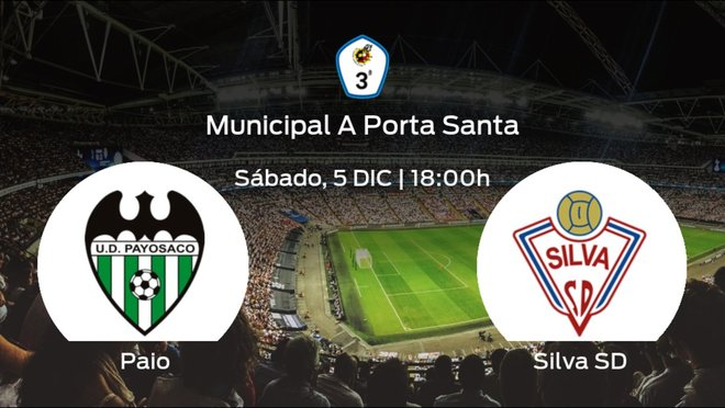 Previa del encuentro: Paiosaco-Hierros - Silva SD