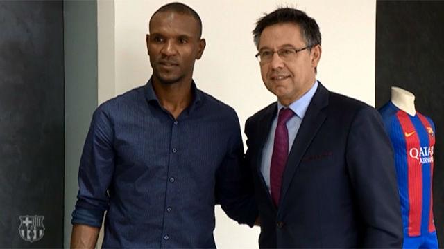 Abidal, embajador y representante del FC Barcelona