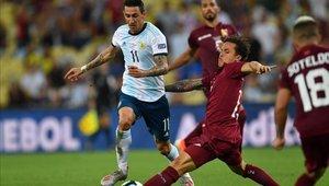 Ángel Di María podría ser tomado en cuenta por Lionel Scaloni