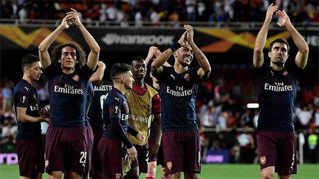 El Arsenal vuelve a ser superior en Mestalla y deja al Valencia sin la final