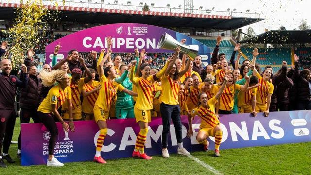Así ha sido la victoria del FC Barcelona Femeni ante la Real Sociedad en la final de la Supercopa de España