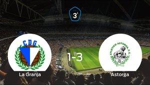 El At. Astorga se queda con los tres puntos después de derrotar 1-3 a La Granja