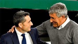 El Barça de Setién no mejora al de Valverde