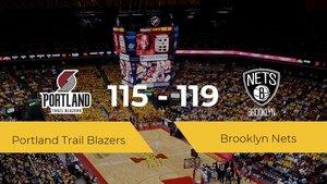 Brooklyn Nets se hace con la victoria en el Moda Center contra Portland Trail Blazers por 115-119