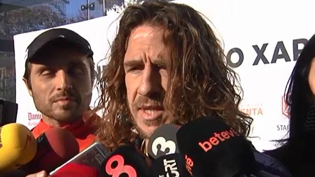 Carles Puyol analizó la situación del Barça y habló sobre el récord de Ramos