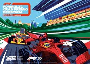 El cartel del GP de España 2020