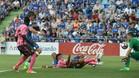 Choco Lozano marcó un gol ante el Getafe