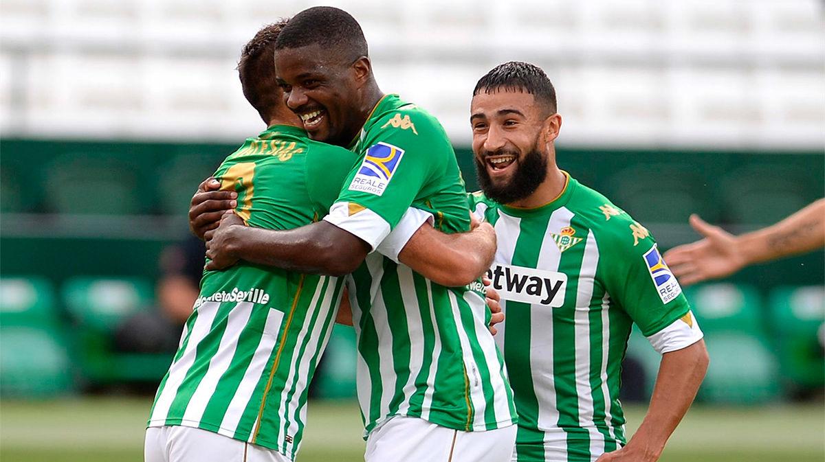 Cómoda victoria del Betis ante el Valladolid