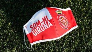 Consigue con SPORT tu mascarilla oficial del Girona FC