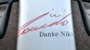 Danke Niki, Gracias Niki
