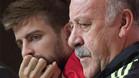 Del Bosque siempre ha defendido a Gerard Piqué