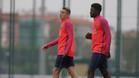Digne y Umtiti se han sometido a un divertido cara a cara para Barça TV