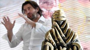 El director del Dakar, David Castera