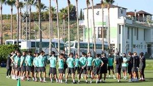 El Espanyol está concentrado en Marbella