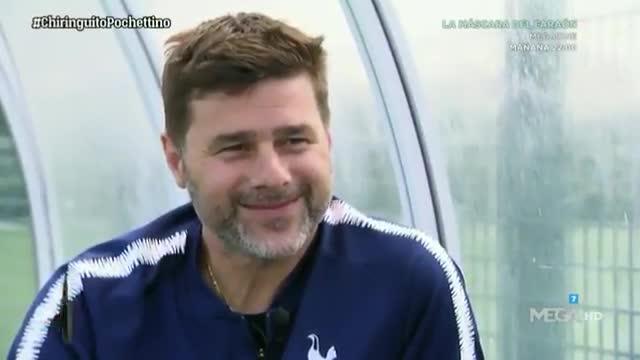 Esta es la cara de Pochettino cuando le hablan del Real Madrid