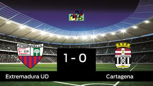 El Extremadura se adelanta (1-0) en la final ante el Cartagena