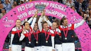 Francia se proclamó campeon de la Copa Federación