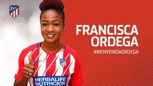 Francisca Ordega ha fichado por el Atlético femenino