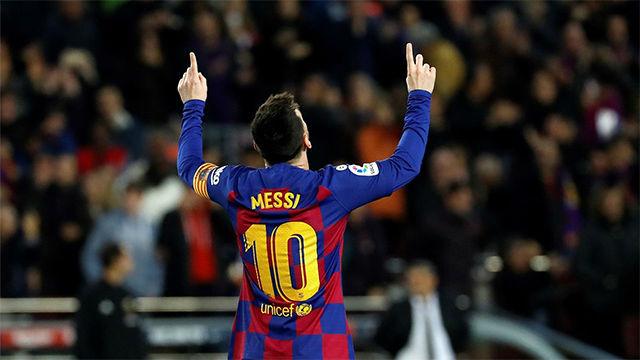 Gol del Mesías, del Balón de Oro, de la Bota de Oro, del Pichichi, del Dios... de Messi