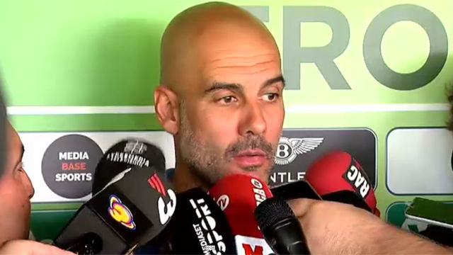 Guardiola no ve a Neymar en el Manchester City