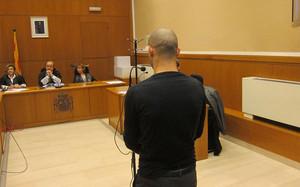 Javier Mascherano, declarando ante el juez