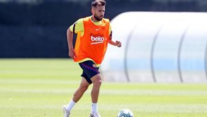 Jordi Alba regresa al equipo tras la sanción