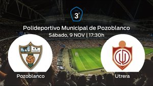 Jornada 13 de la Tercera División: previa del duelo Pozoblanco - Utrera