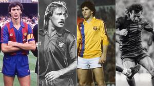 Josep Moratalla, Paco Clos, Joan Estella y Pepito Ramos recordaron para SPORT las anécdotas de la excursión del FC Barcelona por Sudamérica en 1982