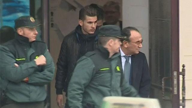 La juez deja en libertad al jugador del Atlético Lucas Hernández
