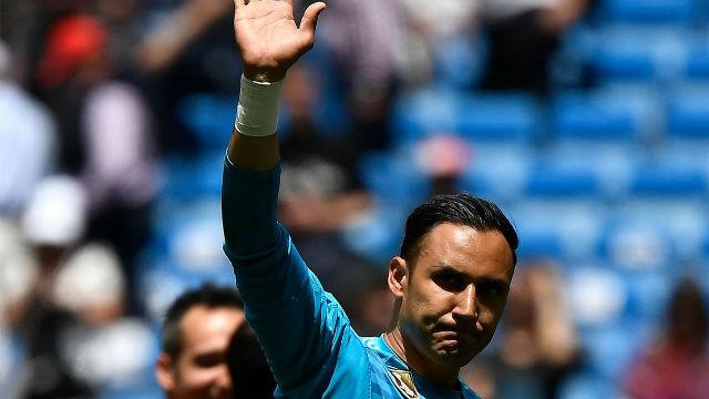 Keylor se despidió, ovacionado, del Bernabéu