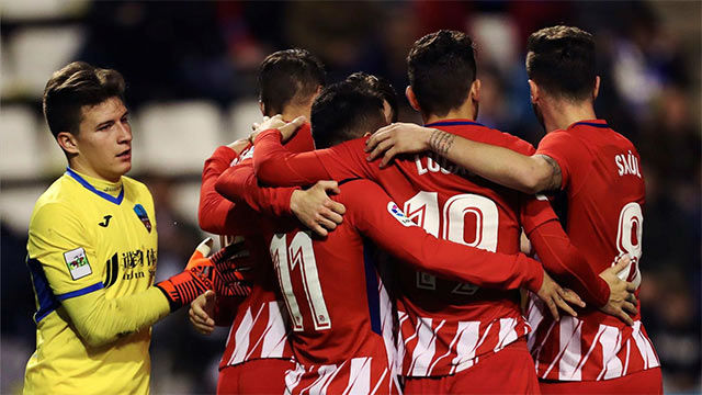 LACOPA | Lleida - Atlético Madrid (0-4)