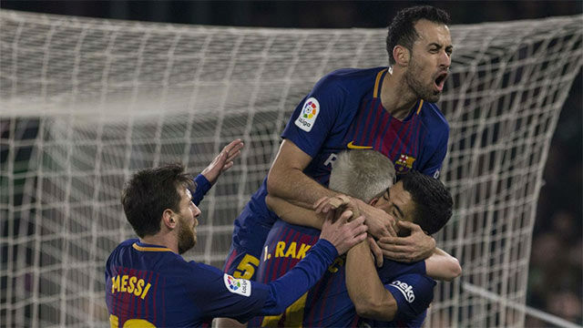 LALIGA FCB | Betis - FC Barcelona (0-5)