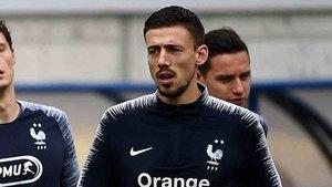Lenglet debutó con Francia