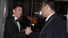 Leo Messi y Josep Maria Bartomeu en la gala del Balón de Oro 2016