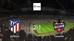 Levante fall to Atlético de Madrid with a 2-1 at Wanda Metropolitano