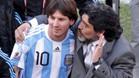 Maradona se desmarca de la sanción a Messi