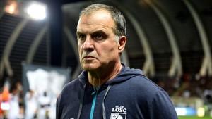Marcelo Bielsa está suspendido por el PSG