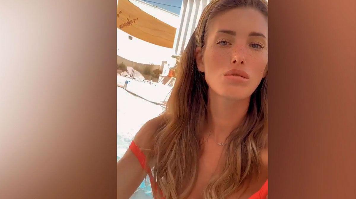Marta López, en Ibiza
