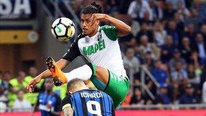 Mauricio Lemos tiene 22 años y juega en la Serie A de Italia