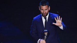 Messi ganó el The Best en 2019