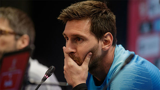 Messi: De Griezmann no opinaremos