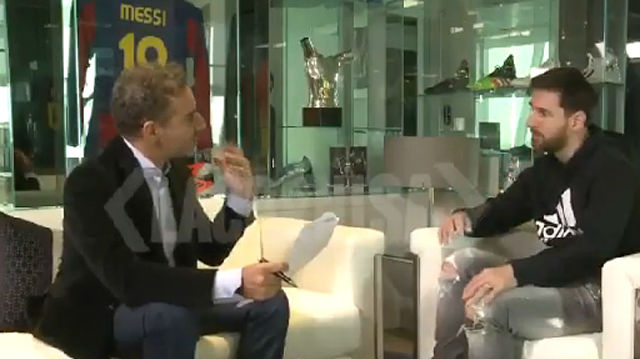 Messi habló en el programa de Fanjul