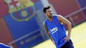 Messi no jugará ante el Betis