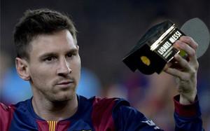 Messi no pudo lograr su quinto Balón de Oro
