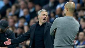 Mourinho le ganó la partida a Pep