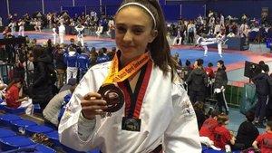 Myriam Córdoba consiguió llevarse la medalla de bronce de Eindhoven