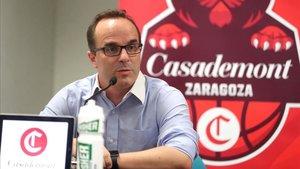Ocampo se siente afortunado de entrenar al Casademont Zaragoza