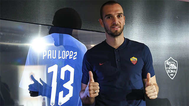 Pau López: No tenía intención de salir del Betis, hasta que llegó la Roma